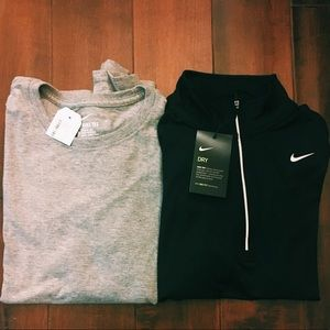 Pair of two *new* nike long sleeve shirts